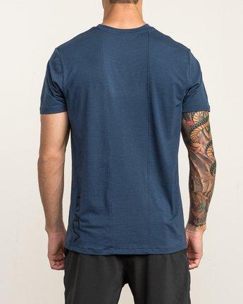 5 VA Vent Short Sleeve Top Blue V904QRVS RVCA