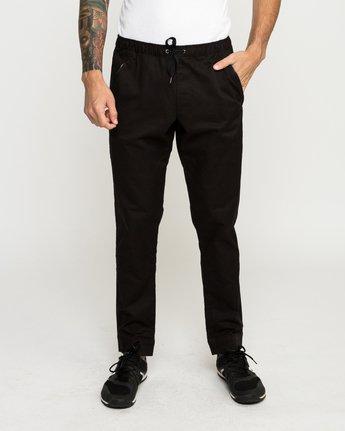 1 Vamok Woven Pant Black VE301VAM RVCA