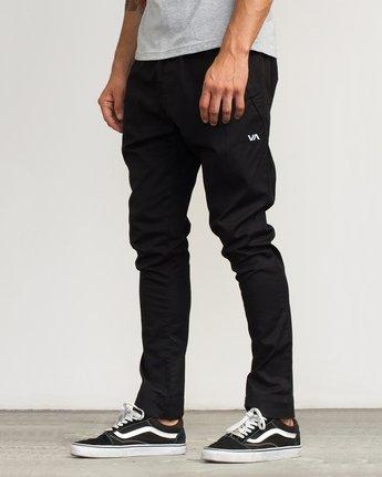 2 Vamok Woven Pant Black VE301VAM RVCA