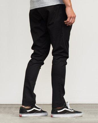 5 Vamok Woven Pant Black VE301VAM RVCA