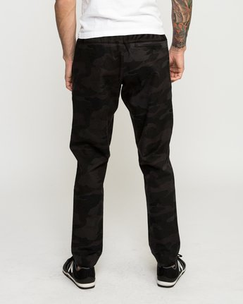 4 Vamok Woven Pant Brown VE301VAM RVCA