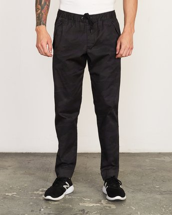 2 Vamok Woven Pant Brown VE301VAM RVCA
