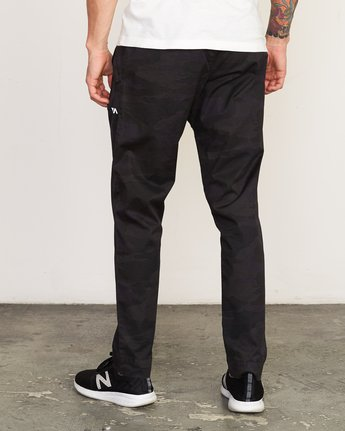 3 Vamok Woven Pant Brown VE301VAM RVCA