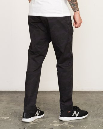 5 Vamok Woven Pant Brown VE301VAM RVCA