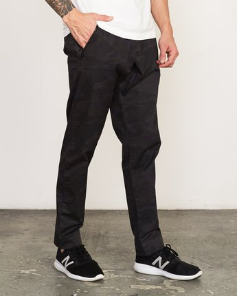 6 Vamok Woven Pant Brown VE301VAM RVCA