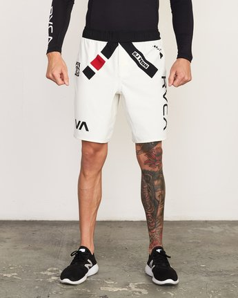 1 BJ Penn Legend Short White VG127BLS RVCA