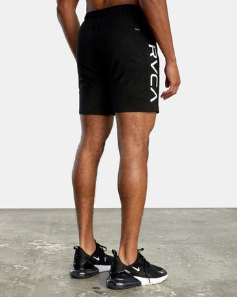 10 VA Sport Grappler Short Black VG208GRP RVCA