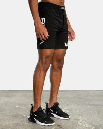 11 VA Sport Grappler Short Black VG208GRP RVCA