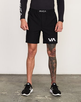 1 VA Sport Grappler Short Black VG208GRP RVCA