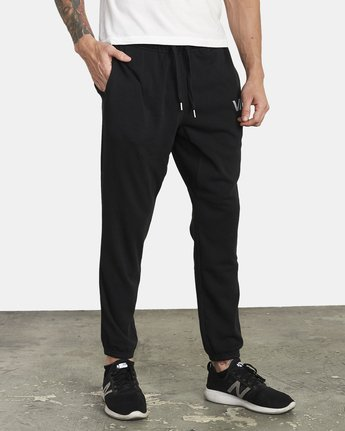 5 ​The Swift Sweat Pant Black VJ301SWT RVCA