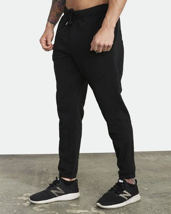 7 SWIFT SWEATPANT Black VJ301SWT RVCA