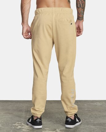 3 SWIFT SWEATPANT Brown VJ301SWT RVCA
