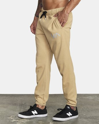 1 SWIFT SWEATPANT Brown VJ301SWT RVCA