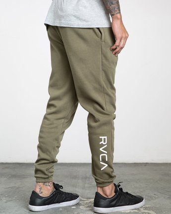 3 SWIFT SWEATPANT Green VJ301SWT RVCA