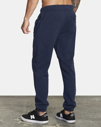 2 SWIFT SWEATPANT Blue VJ301SWT RVCA