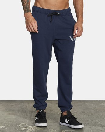 5 SWIFT SWEATPANT Blue VJ301SWT RVCA