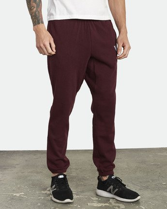 6 Swift Sweatpant Purple VJ301SWT RVCA