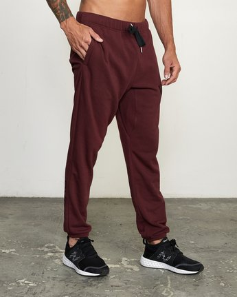 1 SWIFT SWEATPANT White VJ301SWT RVCA