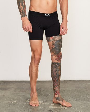 6 VA Boxer Brief Black VL01QRBB RVCA