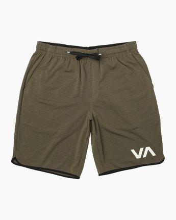 """0 VA Sport Short II 20"""" Short Green VL201SPO RVCA"""