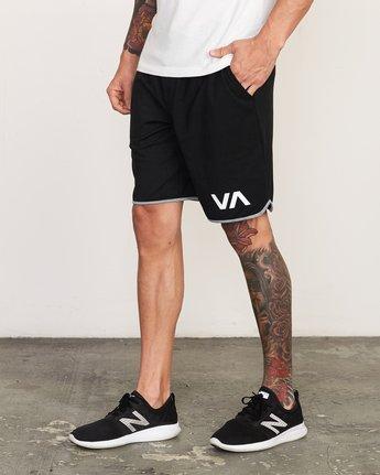 """2 VA Sport Short II 20"""" Short Black VL201SPO RVCA"""