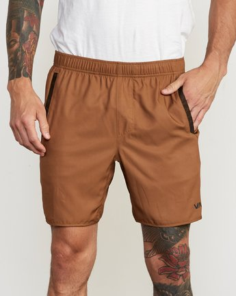 6 Yogger III Short Orange VL204YGR RVCA