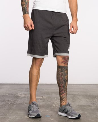 "6 Layers II 19"" Short Black VL205LRS RVCA"