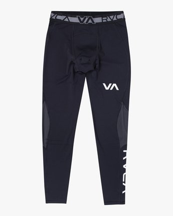 1 COMPRESSION PANT Black VR011RCP RVCA