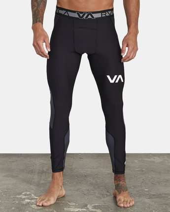 2 COMPRESSION PANT Black VR011RCP RVCA