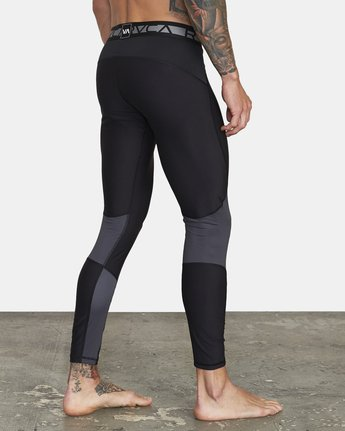 6 COMPRESSION PANT Black VR011RCP RVCA