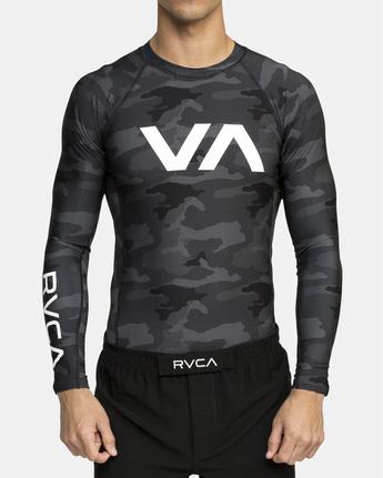 5 VA SPORT RASHGUARD  VR51PRSR RVCA