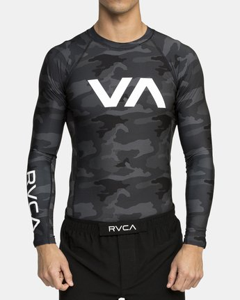 1 VA Sport Rashguard Camo VR51PRSR RVCA