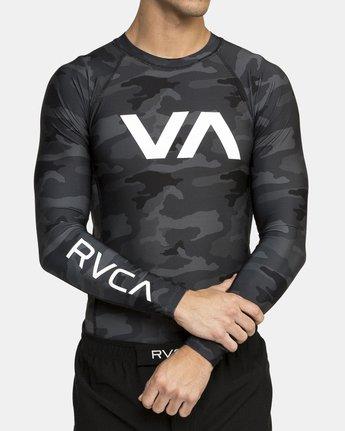2 VA Sport Rashguard Camo VR51PRSR RVCA