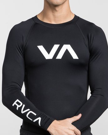 7 VA Sport Rashguard Orange VR51PRSR RVCA
