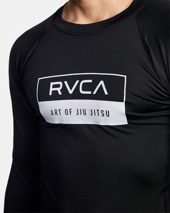 4 ART OF JIU JITSU RASHGUARD  VR52VRAO RVCA