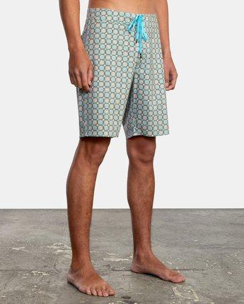 "5 Vanner 19"" - Board Shorts for Men Grey W1BSRSRVP1 RVCA"