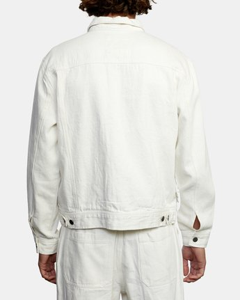 Neutral Hemp - Cropped Jacket  W1JKRDRVP1