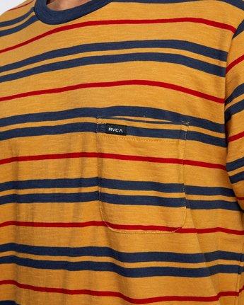 3 Capistrano Stripe - T-Shirt for Men  W1KTRARVP1 RVCA