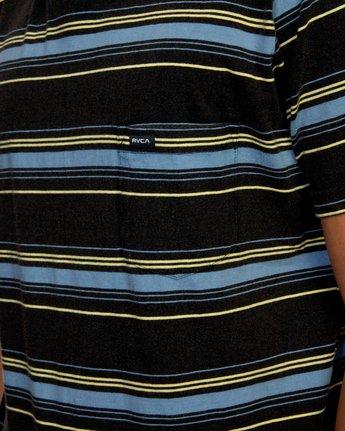 3 Bez Stripe - T-Shirt for Men Black W1KTRJRVP1 RVCA