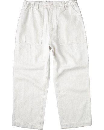 Neutral Hemp - Relaxed Fit Trousers  W1PTRDRVP1