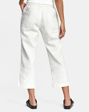 12 Neutral Hemp - Relaxed Fit Trousers Silver W1PTRDRVP1 RVCA