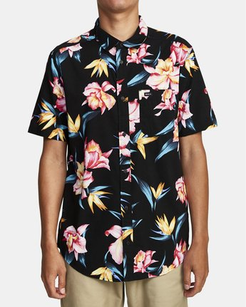 Akora Floral - Short Sleeve Shirt for Men  W1SHIBRVP1