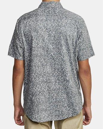 Oblow Waves - Short Sleeve Shirt for Men  W1SHIDRVP1