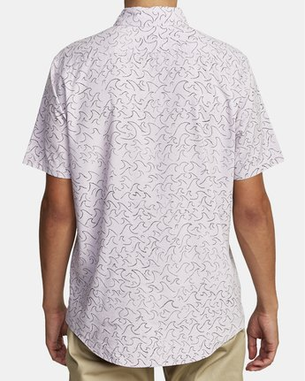 1 Oblow Waves - Short Sleeve Shirt for Men  W1SHIDRVP1 RVCA