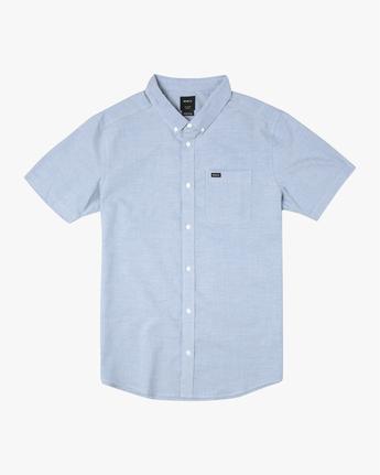 1 That'll Do - Short Sleeve Shirt for Men Blue W1SHRHRVP1 RVCA