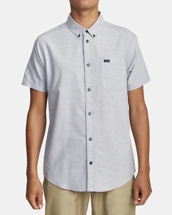 2 That'll Do - Short Sleeve Shirt for Men Blue W1SHRHRVP1 RVCA