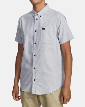 4 That'll Do - Short Sleeve Shirt for Men Blue W1SHRHRVP1 RVCA