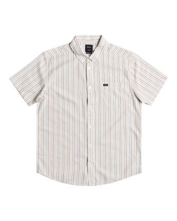 Cassidy Stripe - Short Sleeve Shirt for Men  W1SHRNRVP1