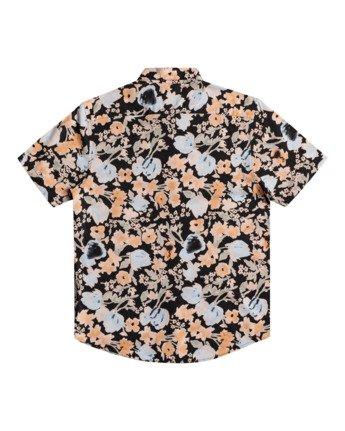 1 Pressure Drop - Short Sleeve Shirt for Men Black W1SHRORVP1 RVCA