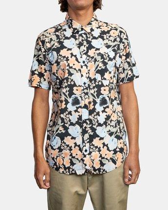 2 Pressure Drop - Short Sleeve Shirt for Men Black W1SHRORVP1 RVCA